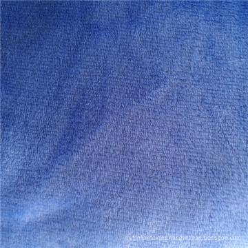 Textile Plain Color Solid Dyeing Flannel Fabric