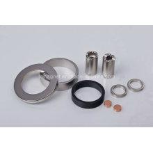 Ring und Disc und Tube Magnete in verschiedenen Beschichtung