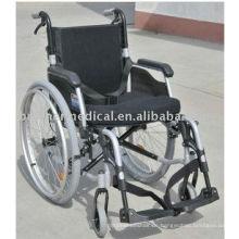 Aluminium Klappbarer abnehmbarer Arm Typ und abnehmbare Beinauflage Rollstuhl BME4636