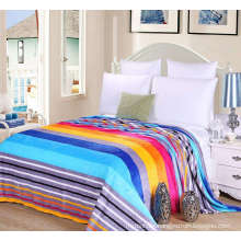 cheap flannel/coral fleece blanket