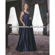 Vestido de casamento grávido impermeável Strap Spaghetti