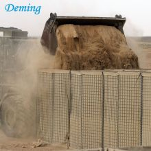 Army Construction Hesco con Razor Barbed Wire