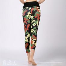 Hot Vendendo Womens Fitness Yoga Leggings Exercício Vestuário
