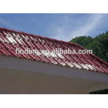 couleur faible coût ciment toit tuile de machine en machine de Chine/béton toit tuile