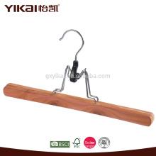 Ароматный кедровый деревянный вешалка для брюк