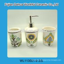 2016 novo conjunto de cerâmica de banho de cerâmica 3 peças