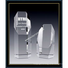 Награда восьмиугольник Кристалл Империя 8 дюймов высотой (ню-CW768)