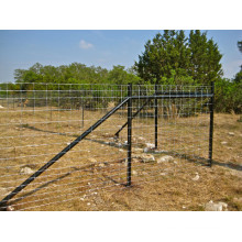Cerca galvanizada alta do campo do gado de 1.2m / cerca dos carneiros / cerca animal do engranzamento de fio para o gado