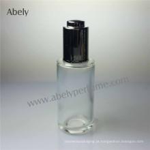 Frasco de óleo do perfume do vidro de pulverizador com bomba