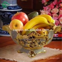 ceramic cheap Decorative Flower cut dry fruit serving bowls