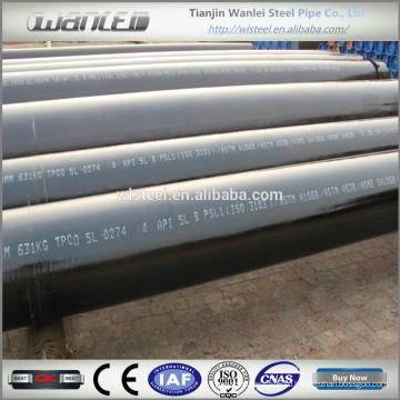 Черные стальные бесшовные трубы sch40 astm a106