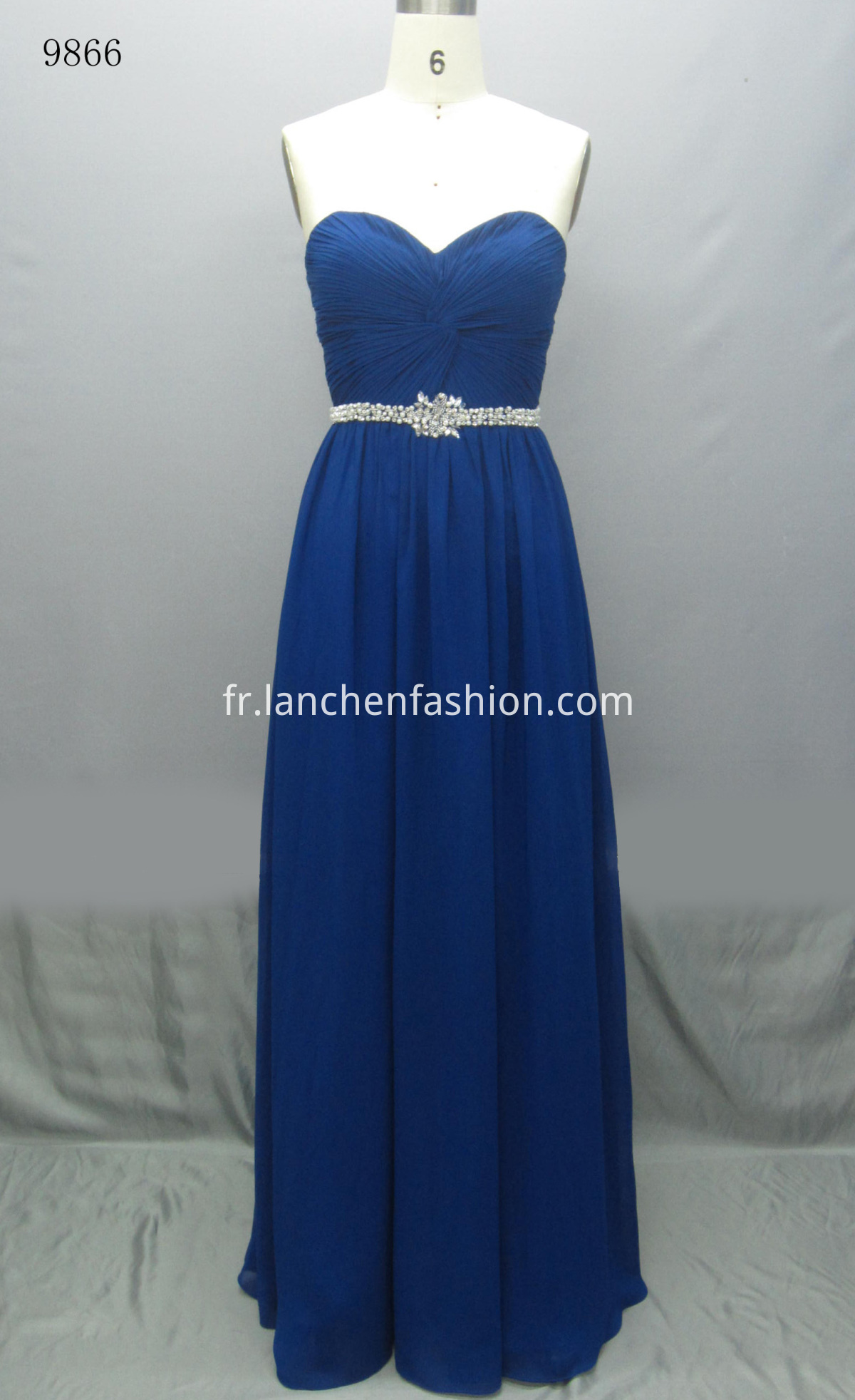 Vintage Maxi Dress ROYAL