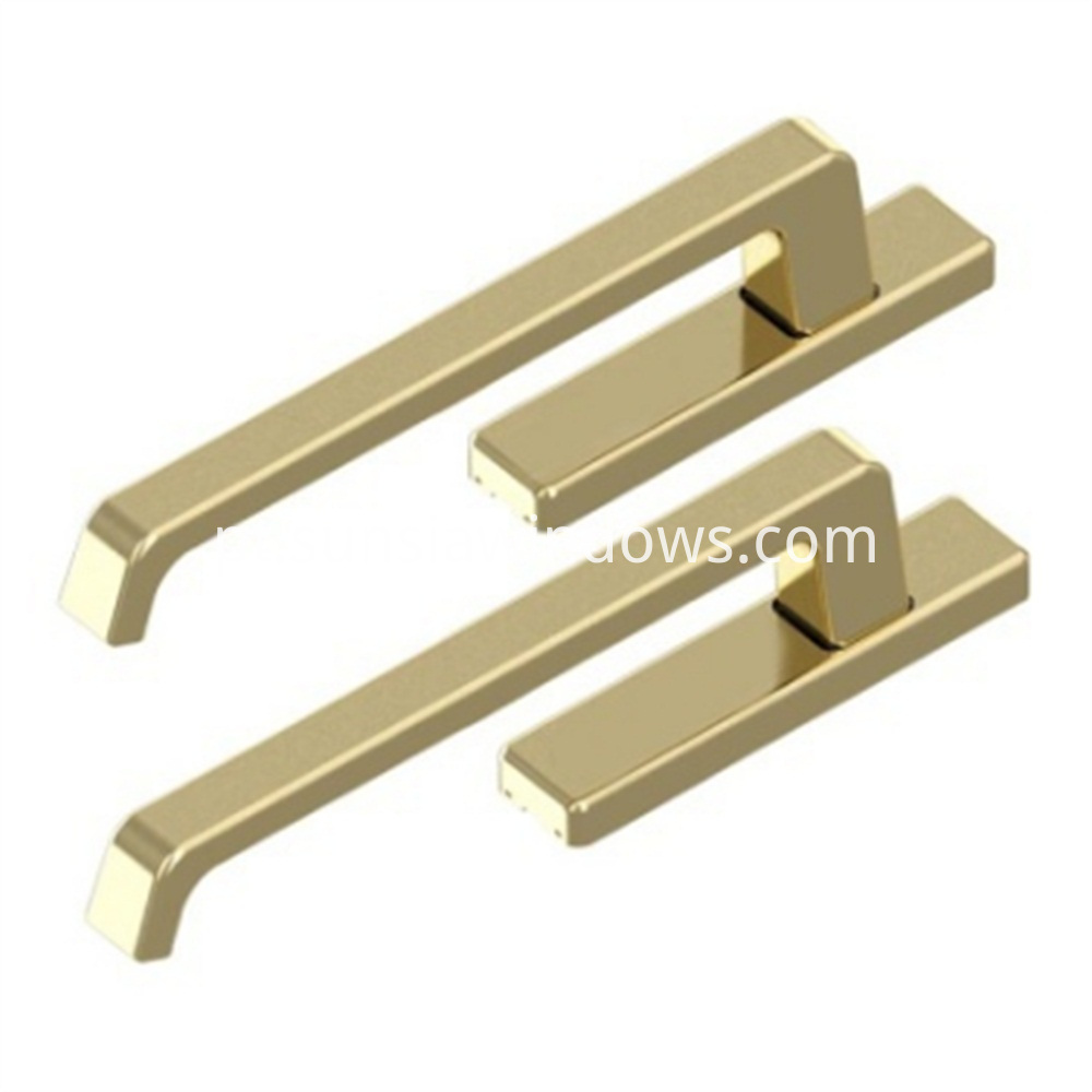 Box of Handles for Lift and Slide Door, handles for lift and slide Door, Lift and Slide Door System Golden Color