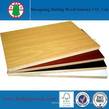 Panneau de mélamine MDF pour fabriquer des meubles en bois
