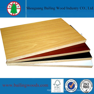 China Professional Manufacturer High Density MDF Board