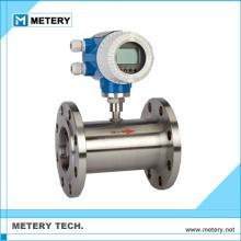 Ethylene glycol air gas turbine flow meter