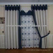 Tecido de cortina de linho barato