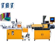 T-BOTA TBTSE-8176P thermoplastic PVC, PE, PP,PS, PA, PC, PU tube Eextrusion Single Screw Plastic Sheet Extrusion Line