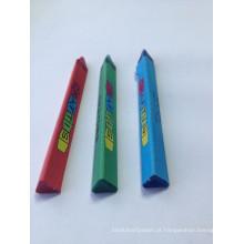 Desenho profissional pintado a cores, desenho escolar profissional, triângulo de pintura de estudantes