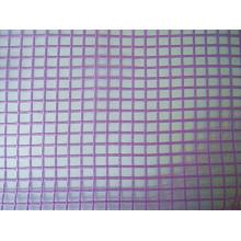 Seersucker Grid Organza Fabric
