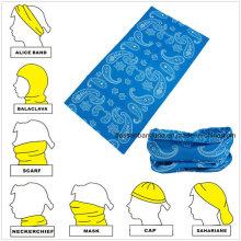 Custom Made Design Logo Printed Promotional Magic Multifunctional Headwear
