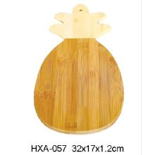 Custom Bamboo Chopping Block With Pineapple Shape