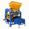 Factory automatic concrete hollow block brick forms production line for sale