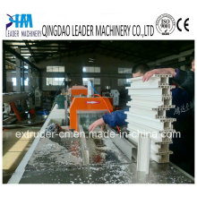 Conical Twin Screw PVC Profile Extrusion Line
