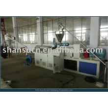 Estirador de la granulación del PVC