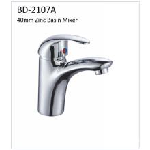 Bd2107A Faucet de bacia de zinco de alavanca única de 40mm