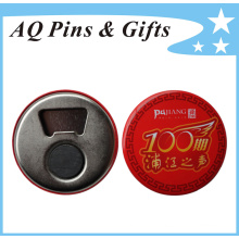 Bottle Opener Tinplate Button Badge in Quick Turnaround (button badge-53)