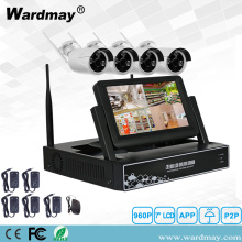 Kits NVR Wifi 1.3 / 2.0MP con pantalla LCD de 7 ""