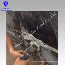 Keying disco abrasivo elástico de la aleta / discos de la aleta del óxido de alúmina / discos de la aleta 100 * 16m m