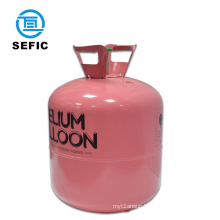 Party balloons 30LB&50LB 99.999% purity gas small disposable helium gas cylinder