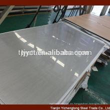 placas de acero inoxidable (hojas) 304