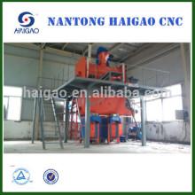Полуавтоматическая линия для производства строительных растворов