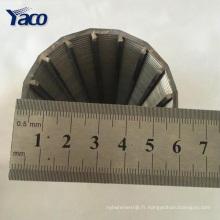 Chine en gros filtre à sable d'écran de fil de cale d'acier inoxydable