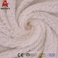 weiche Plüsch Micromink Stoff Decke aus 100% Polyester Sherpa