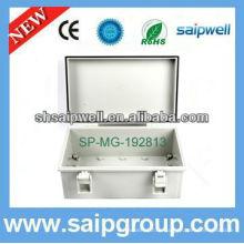 Nouveau boîtier de protection en plastique imperméable ip65 articulé