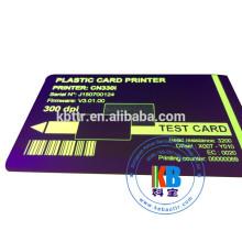 Sublimation id card printer UV ribbon zebra Evolis Pebble 1000 images