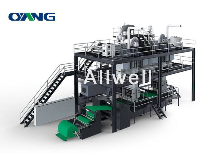PP S Non Woven Fabric Making Machine, Automatic PP Non Woven Production Line