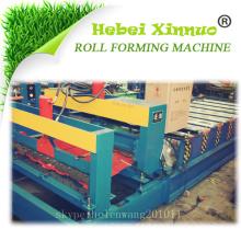 Hebei xinnuo haute qualité en acier tuile rouleau formant la machine