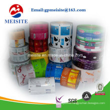 Chocolate Packing Film in Roll, Sweet Bar Plastic Package Roll Film