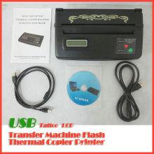 Máquina de copiadora térmica de tatuaje USB LCD