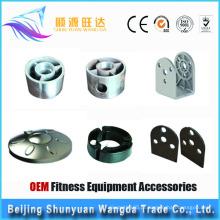 Peças de fundição de alumínio do OEM, acessórios do equipamento da aptidão
