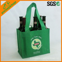bolsa de transporte de vino de botella portátil reutilizable