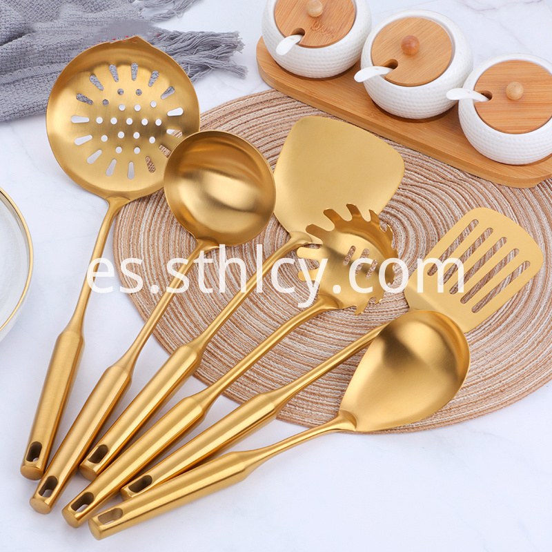 High Quality Stainless Steel Colored Cooking Tools
