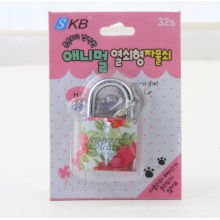 Popular and Color Plated Iron Padlock Sio 9001