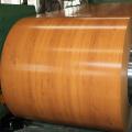 Holztür mit Stahlnetz