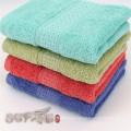 Uso en el hogar jacquard satén algodón suave conjunto de toallas de baño de algodón
